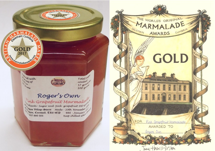 Gold Award marmalade